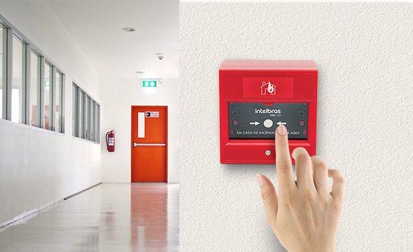 alarme incêndio